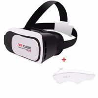 Melefoni Vr Case Sanal Gerçeklik Gözlüğü Google Cardboard Bluetooth Kumandalı 6 İnc