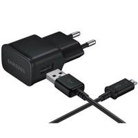 Samsung Micro USB Şarj Cihazı Siyah - EP-TA12EBEUGWW