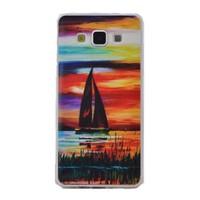 Teleplus Samsung Galaxy A8 Desenli Silikon Kılıf Manzara