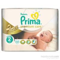 Prima Bebek Bezi Premium Care İkiz Paket 2 Beden 32 Adet