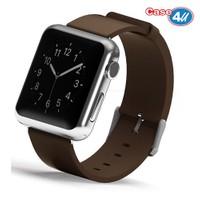 Case 4U Apple Watch 38 mm Klasik Tokalı Kahve Kayış