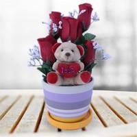 Sevgiliye Romantik Hediye Sevgi Çiçeği