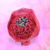 Sevgiliye Romantik Hediye Tatlı Aşk Buketi