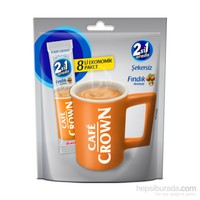 Cafe Crown 2si1 Fındıklı 12 gram 8'li