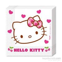 KullanAtMarket Hello Kitty Kalpler Kağıt Peçete 33X33cm 20 Adet