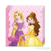 KullanAtMarket Prenses Düşler Kağıt Peçete 33X33cm 20 Adet