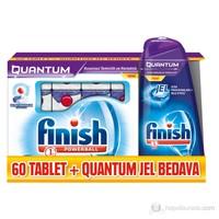 """""""Finish Quantum Tablet 60 'lı Oxy+ Quantum Jel 500 ml (Çamaşır Suyu Katkılı) kk """""""