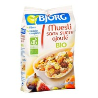 Bjorg Muesli Without Added Sugar 375 Gr - Organik Şeker Eklenmemiş Müsli