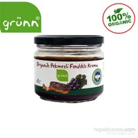Grünn Organik Pekmezli Fındıklı Krema 250 gr