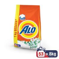 Alo Çamaşır Deterjanı Kar Çiçeği 8 kg kk