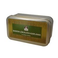 Nefis Gurme Badem Beyaz Çikolata Kaplama 250 Gr Metal Kutu
