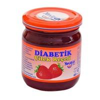 Yenigün Çilek Reçeli Diabetik, 250 Gr
