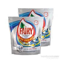 Fairy Bulaşık Tableti Hepsi Birarada Platinum 2X70 Yıkama