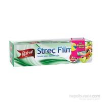 KullanAtMarket Roll-Up Streç Film 30 Cm X 300 M (Kayar Bıçak Hediyeli) 1 Adet