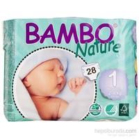 Bambo Nature Bebek Bezi Yenidoğan 1 Beden 28 Adet