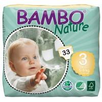 Bambo Nature Bebek Bezi 3 Beden 33 Adet