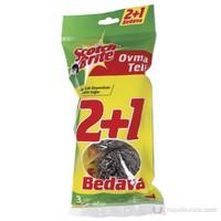Scotch Brite Ovma Teli 2+1 Bedava
