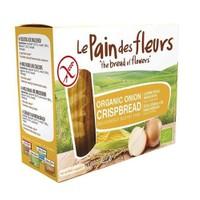 Le Pain Des Fleurs Organik Glutensiz Diyet Soğanlı Kraker 125 Gr