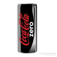 Coca Cola Kutu Zero 250 Ml