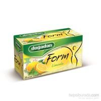 Doğadan Form Limonlu Karışık 20'li Poşet Bitki Çayı