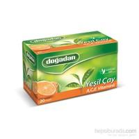 Doğadan Yeşil Çay A C E Vitaminli 20'li Poşet