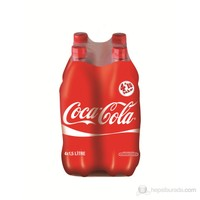 Coca-Cola Pet Şişe 4x1 lt