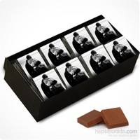 ChocChic Fotoğraflı Çikolata Dikdörtgen Kutu