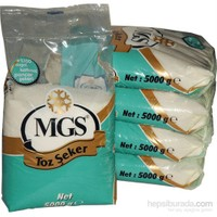 Mgs Paket Toz Şeker 5 Kg