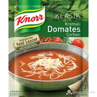 Knorr Kremalı Domates Çorbası