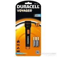Duracell Led Fener STL-3 Dayanıklı & Hafif Kauçuk Serisi 2xDuracell AA pil hediyeli