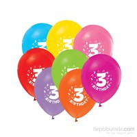 KullanAtMarket 3 Yaş Balon