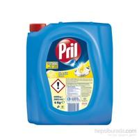 Pril Sıvı Bulaşık Deterjanı 3 'lü Güç Limon 4 Kg
