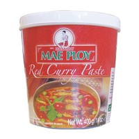 Thai World Kırmızı Köri Ezmesi - Red Curry Paste, 400Gr