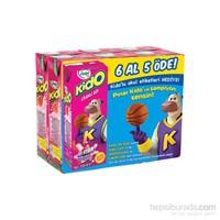 Pınar Kido Süt Çilekli 6'lı x 200 ml (6 Al 5 Öde)
