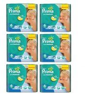 Prima Bebek Bezi Aktif Bebek Mega 6'lı Paket 6 Beden 168 Adet