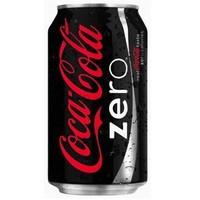 Coca Cola Kutu Zero 330 ml X 12´li Paket kapalı