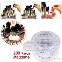 Hepsi Dahice Makyaj Malzemesi Standı 360 Derece Döner Mekanizmalı kk