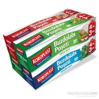 Koroplast Buzdolabı Poşeti Karma 4 Al 3 Öde