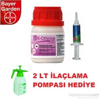 Bayer MaxForce 5 gr + K-Othrine 2 lt İlaçlama Pompası Hediye