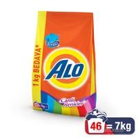 Alo Toz Çamaşır Deterjanı Canlı Renkler 7 kg kk