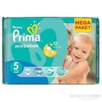 Prima Bebek Bezi Aktif Bebek Mega Paket 5 Beden 42 Adet