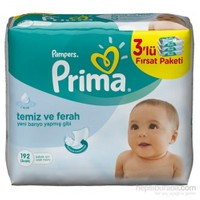 Prima Pampers Fresh Islak Havlu 64'Lü (3'Lü Paket)