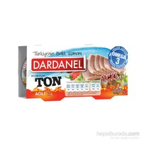 Dardanel Ton Balığı Acılı 160 gr x 2