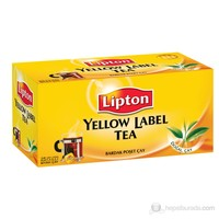 Lipton Yellow Label Bardak Poşet Çay 25'Li