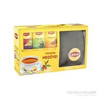 Lipton Karışık Bitki ve Meyve Çayı 120'li Polar Şal Hediyeli (Yeşil Çay, Ihlamur, Kuşburnu)