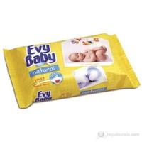 Evy Baby Islak Havlu Doğal 64 Yaprak