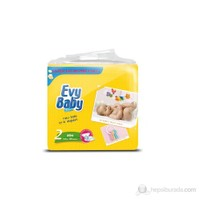 Evy Baby Bebek Bezi Süper Ekonomik 2 Beden 80 Adet