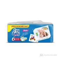 Evy Baby Bebek Bezi Süper Ekonomik 6 Beden 40 Adet