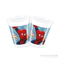 KullanAtMarket Spiderman Savaşçı Plastik Bardak 200Cc 8 Adet