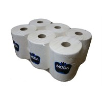 Moda 1 Kg 6 Adet 21Cm Sensorlu Kağıt Makine Kağıt Havlu